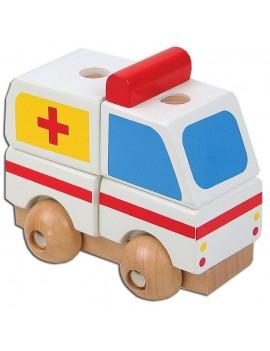 Мини 3D пъзел: Линейка, Pino