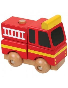 Мини 3D пъзел: Пожарна, Pino