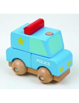 Мини 3D пъзел: Полиция, Pino