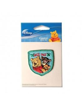 Текстилен стикер  Мечо Пух и Тигър