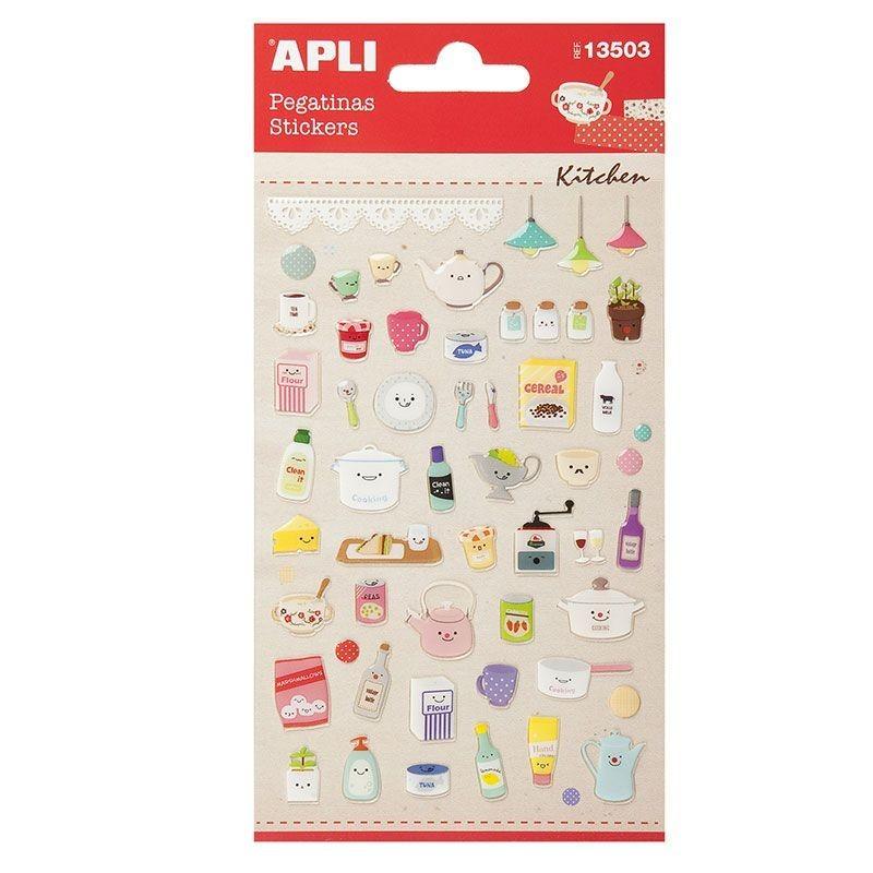 APLI 13503 Самозалепващи епокси стикери - Кухня