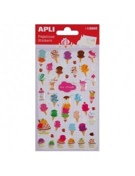 APLI 13895 Самозалепващи епокси стикери - Сладолед