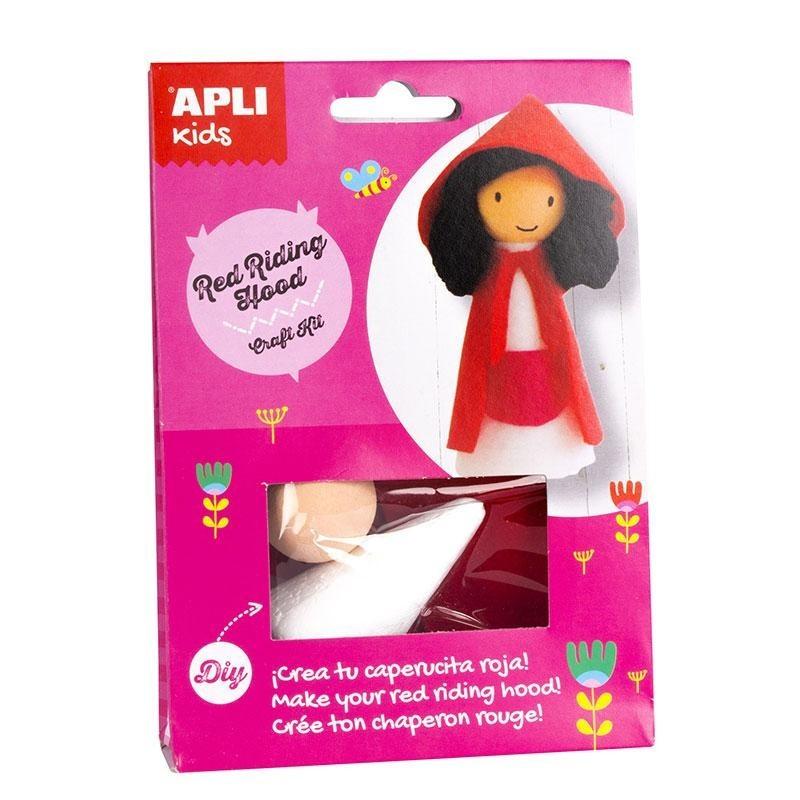 APLI 14628 Направи си сам Червената шапчица - творчески комплект