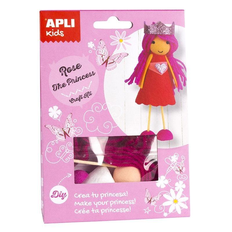 APLI 14690 Направи си сам Принцеса Роуз - творчески комплект
