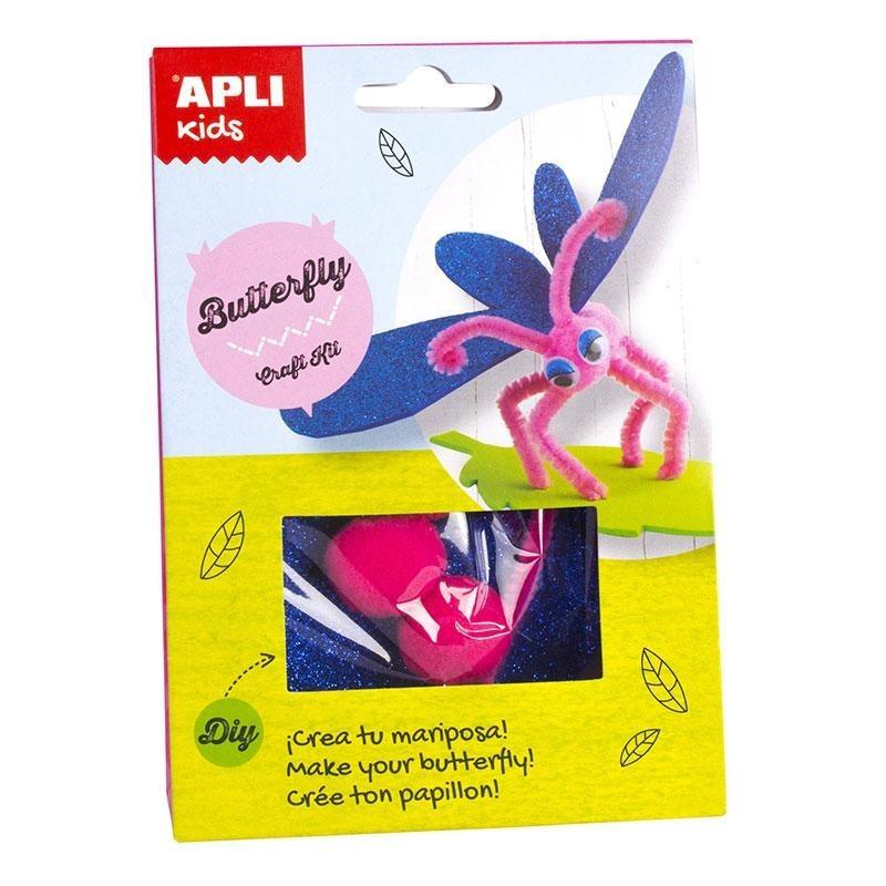 fdedf052dd2 Направи си сам Пеперуда - детски творчески комплект. Играй и учи с ...