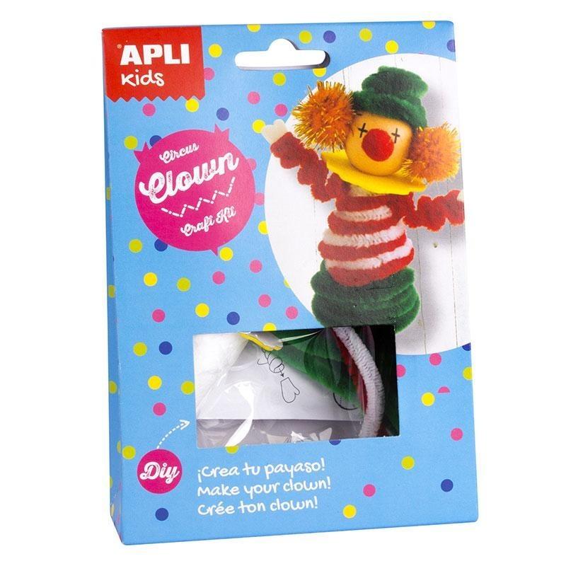 APLI 14632 Направи си сам Цирков клоун - творчески комплект