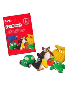 """APLI Kids Комплект Вълшебно """"тесто"""" за моделиране на фигурки за игра, декорация и украшения - 6 цвята в кутийки по 14 гр."""