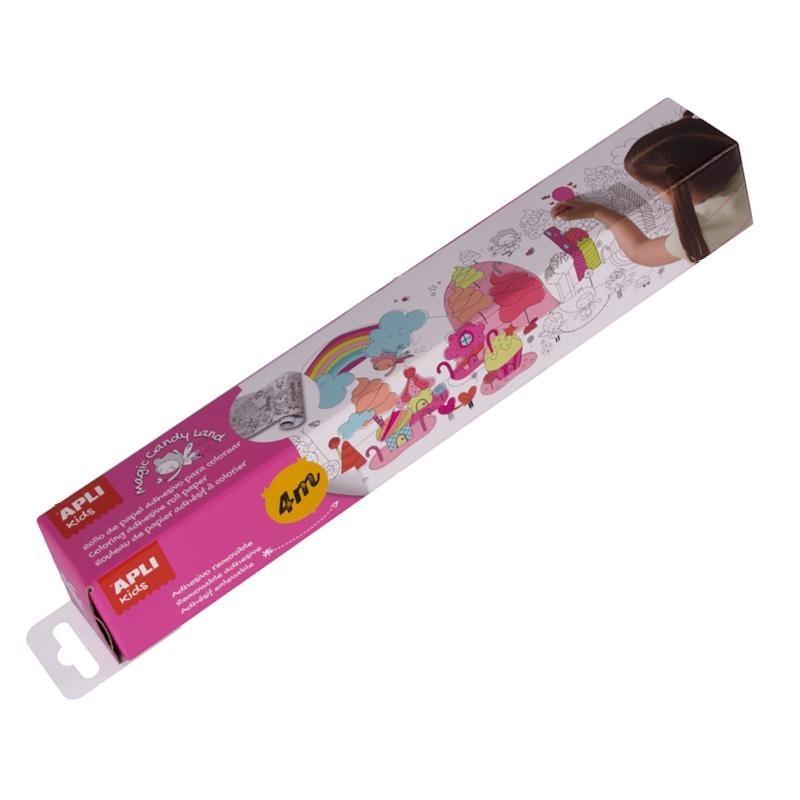 Самозалепваща ролка за оцветяване с дължина 4 метра- сладкиши