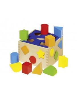 Детска дървена кутия за...