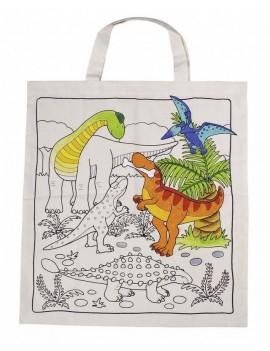 Текстилна торба за декорация Динозавър, Goki