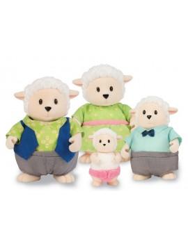 Колекционерски фигурки Семейство овчици, Li'l Woodzeez