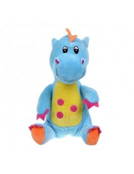 Плюшена играчка Син бебе-дракон, 32 cм, Morgenroth Plusch