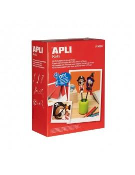 Креативен комплект: Малка вещица и пират, APLI Kids