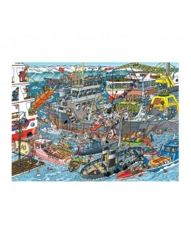 Пъзел: Морско пристанище- Ян ван Хаастерен, Jumbo