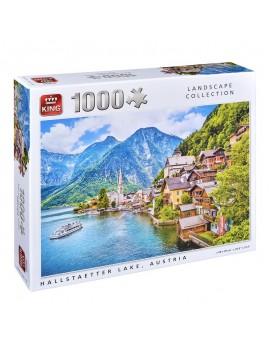 Пъзел: Езерото Халщетер- Австрия, King