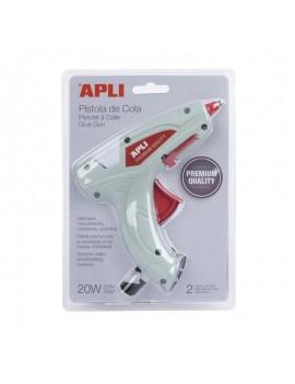 Пистолет за топло лепене със силикон 20W, APLI