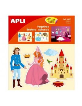 Декорация за стена: стикери Принцеси, APLI
