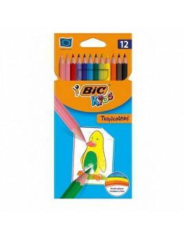 Цветни моливи, 12 цвята,...
