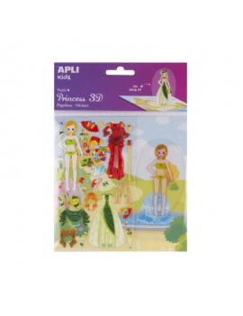 3D Стикери и кукла за...