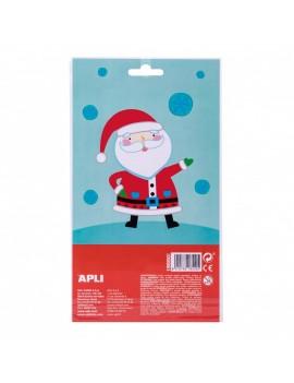 Обемни стикери Дядо Коледа,...