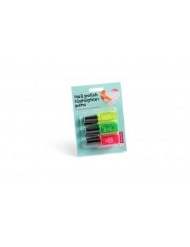 Miquelrius MR11809 Комплект от 3 текстмаркера-лак в различни цветове