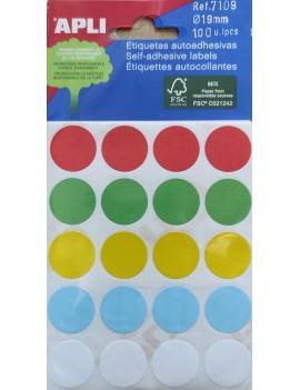 APLI 7109 Цветни етикети...