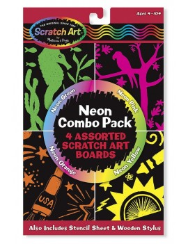 Неонов комбо пакет Разкрии цветовете, Melissa and Dough