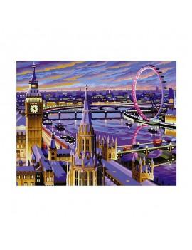 Рисуване по номера Лондон, KSG Crafts