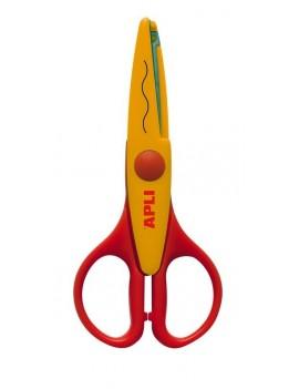 APLI Kids 12818 Ножица за декоративно рязане и приложни занимания - 13 cm