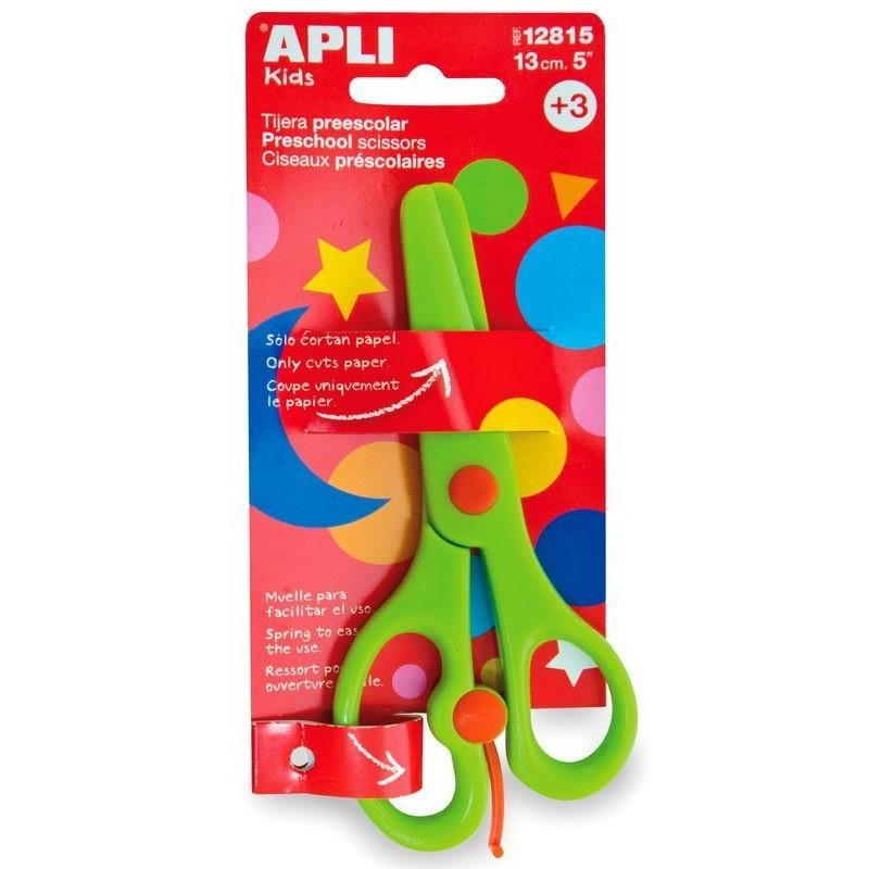 APLI Kids 12815 Безопасна ножица за детската градина - 13 cm