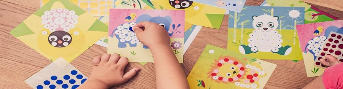 Комплекти игри със стикери | Kornel4Kids