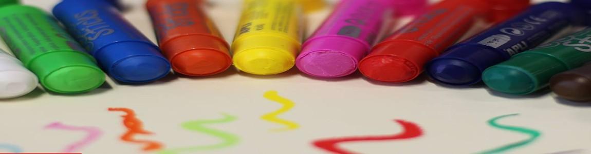 Химикалки, маркери и тебешири за ученика | Kornel4Kids
