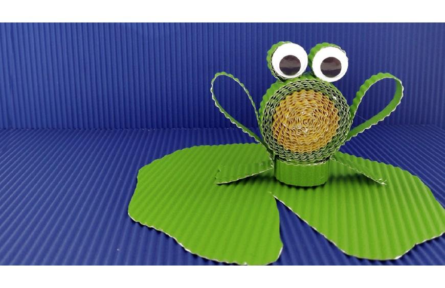 Бърза и лесна крафт идея за деца: Животинки от гофриран картон