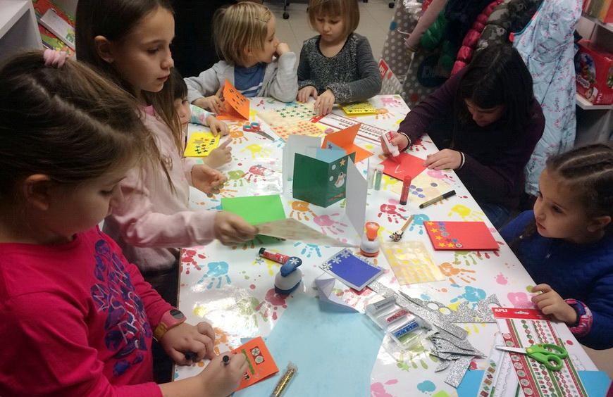 Детски творчески работилнички всяка събота