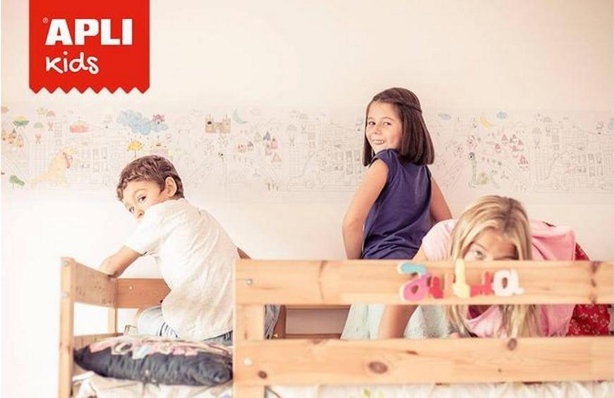 Да нарисуваме детската си стая с APLI Kids - една страхотна идея за декорация
